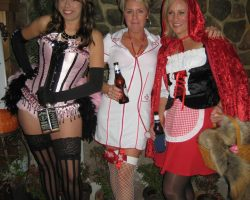 adults at our costume party
