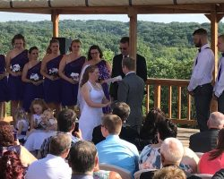 wedding at our winery